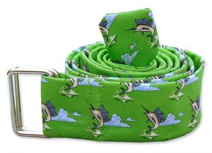 Blue Marlin: Belt - Green
