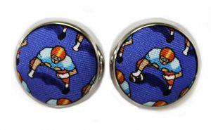 1st & Ten: Cufflinks - Blue