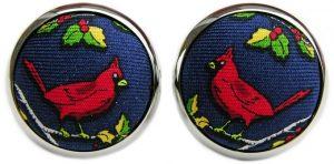 Cardinal Calling: Cufflinks - Navy