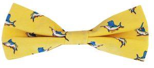 Small Bills - Boy's Bow - Yellow