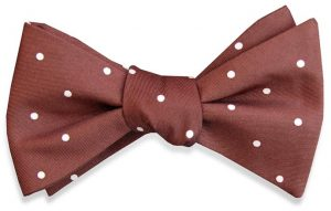 Classic Spots: Bow - Brown