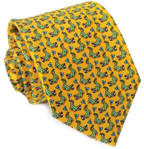 Hazard On Eight: Tie - Yellow