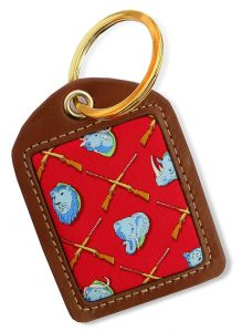 Trophy Room: Key Chain - Red