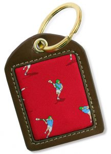 LAX Attack: Key Chain - Red