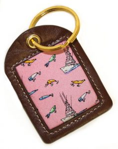 Go Fish: Key Chain - Pink