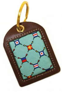 Yacht Club: Key Chain - Seafoam