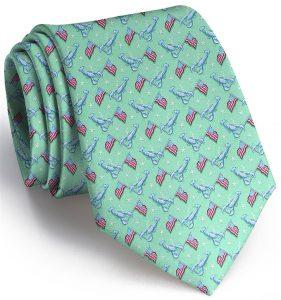 Patriotic Pinchers: Tie - Mint
