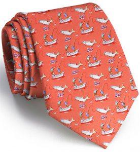 Tarpon Frenzy: Tie - Coral