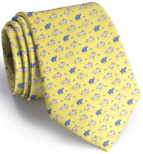 Tortoise & The Hare: Tie - Yellow