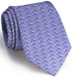 Hazard On Eight: Tie - Violet
