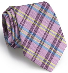 Paddock Plaid: Tie - Pink