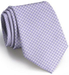 Houndstooth: Tie - Violet
