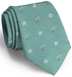 Jolly Roger English Woven Pedigree: Tie - Mint