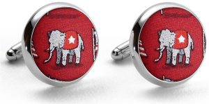 Surprise Party: Cufflinks - Red