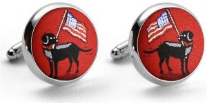 American Labs: Cufflinks - Red