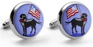 American Labs: Cufflinks - Blue