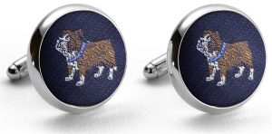 Pedigree Bulldog: Cufflinks - Navy