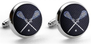 Pedigree Lacrosse: Cufflinks - Navy