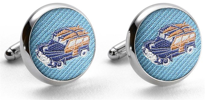 Pedigree Woody: Cufflinks - Turquoise