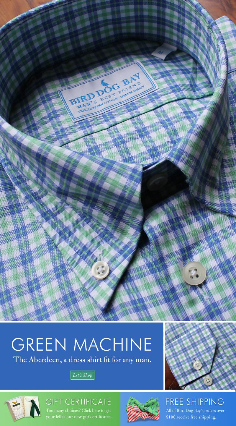 Aberdeen Blue Ribbon Shirting