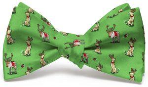 Santa's Helper: Bow - Green