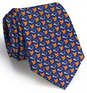 Release the Hounds: Tie - Navy