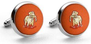 Duck Dogs: Cufflinks - Orange