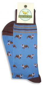 Bulldog Bonanza: Socks - Blue