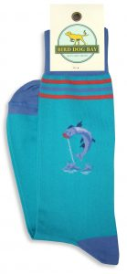 Tarpon Time: Socks - Turquoise