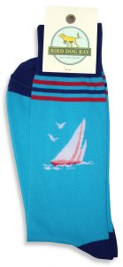 Sail Away: Socks - Turquoise
