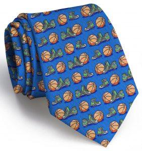 Hoop Dreams: Tie - Blue