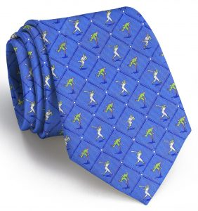 National Past-Tie: Extra Long - Blue