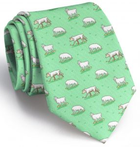 Wolf In Sheep's Clothing: Tie - Mint