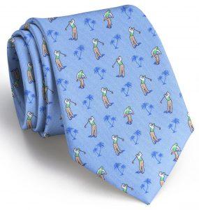 Sunday Morning Slice: Tie - Blue