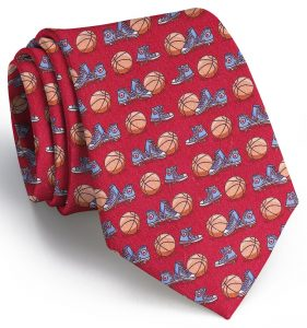 Hoop Dreams: Tie - Red