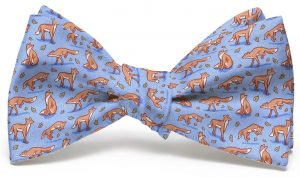 Out Foxed: Bow - Blue