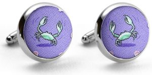 In A Pinch: Cufflinks - Violet