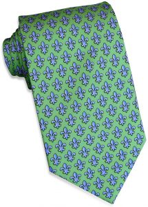Fleur De Lis: Tie - Mint