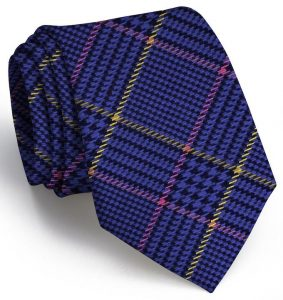Hermann Plaid: Tie - Blue