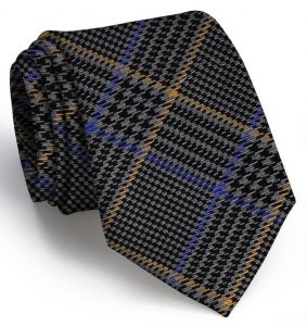 Hermann Plaid: Tie - Gray