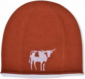 Winter Hat: Longhorn - Orange