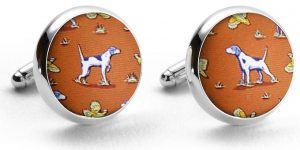 Point and Shoot: Cufflinks - Orange