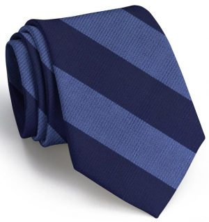 Clarkson Stripe: Extra Long - Blue/Navy