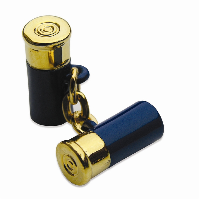 12 Gauge Cufflinks - Navy