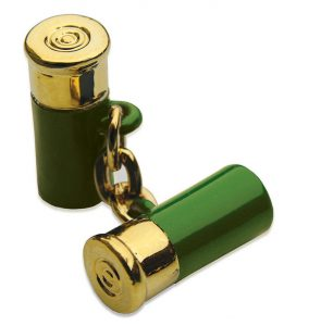 12 Gauge Cufflinks - Green