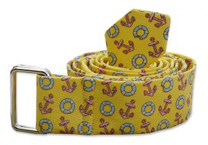 Anchors Aweigh: Belt - Pale Yellow