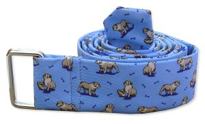 Bulldog Bonanza: Belt - Light Blue