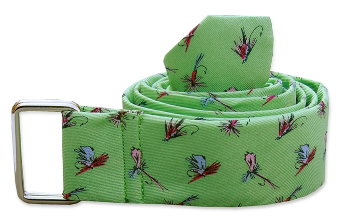Hooked on Flies: Belt - Mint