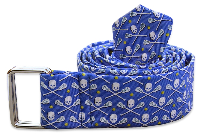 Lacrosse Bones: Belt - Blue