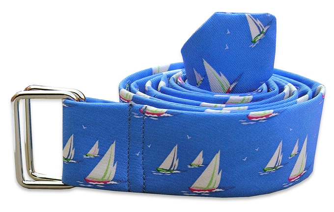 Sail Away: Belt - Blue